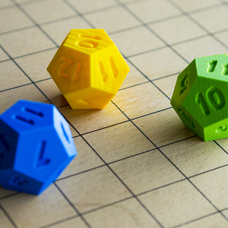 Hexagon dice