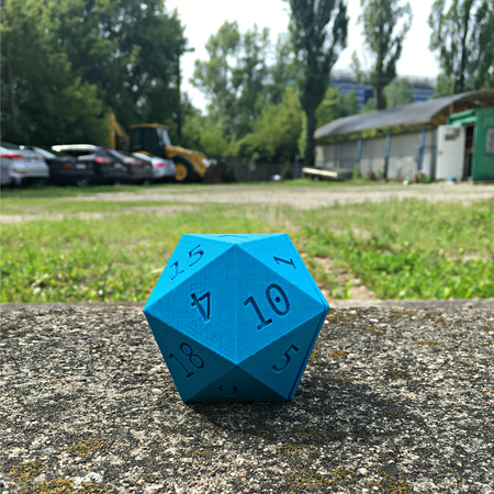 D20 of holding