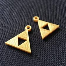 Triforce earrings from zelda universe
