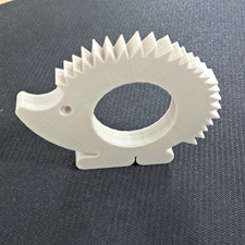 Hedgehog napkin ring