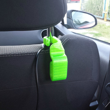 Car headrest hooks