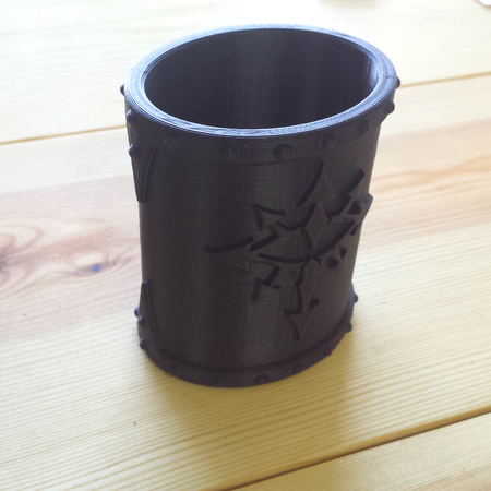 Warhammer chaos dice cup