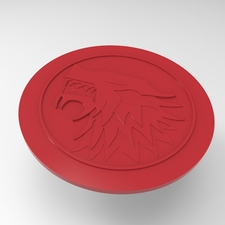 House stark cup coaster
