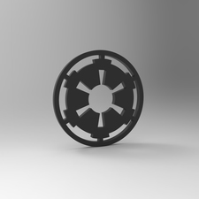 Star wars empire keychain