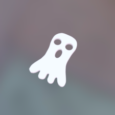 Ghost decoration