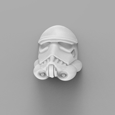 Stormtrooper wall sculpture