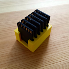 6 sd cards holder